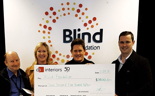 Fit out firm wrapped to help out charity