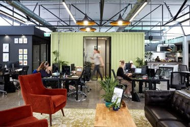 A modern type of workplace